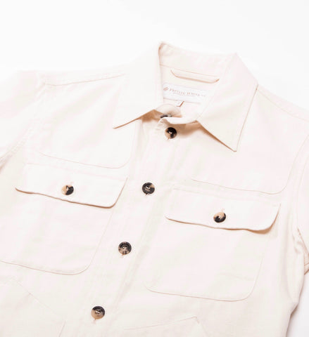 Private White Safari Jacket, Ecru