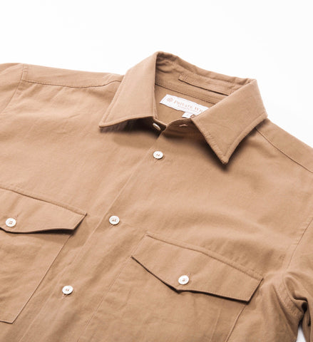 Private White Two Pocket Shirt, Sand