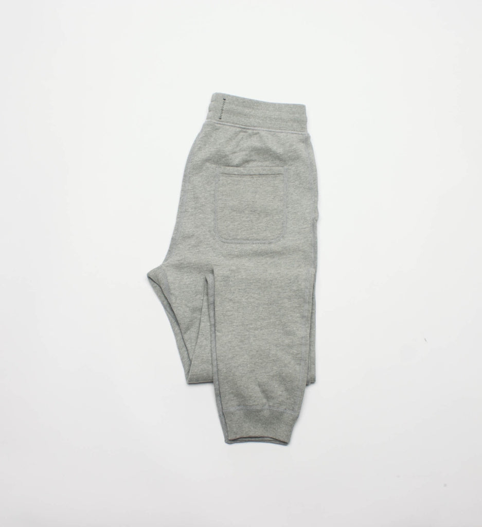 Reigning Champ Knit Terry Slim Sweatpant, Heather Grey