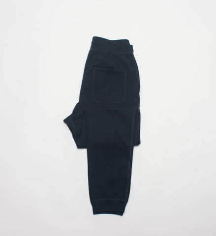 Reigning Champ Knit Terry Slim Sweatpant, Navy