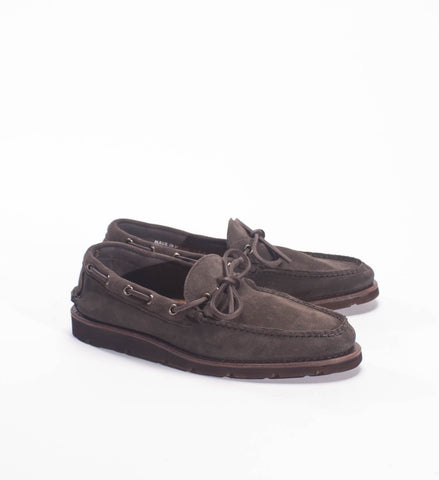 Rancourt Men's Chandler's Camp Moc, Flint Kudu Suede