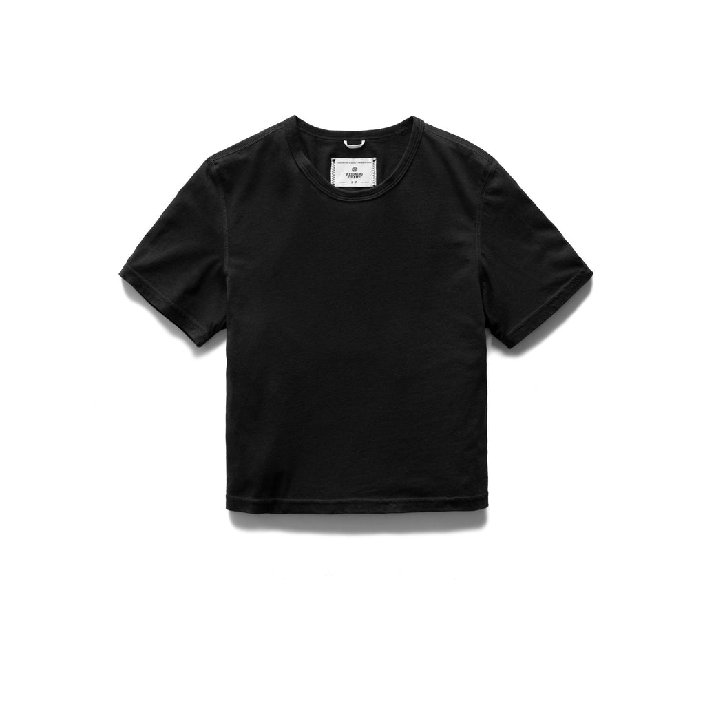 Reigning Champ Women's Box Fit T-Shirt, Black