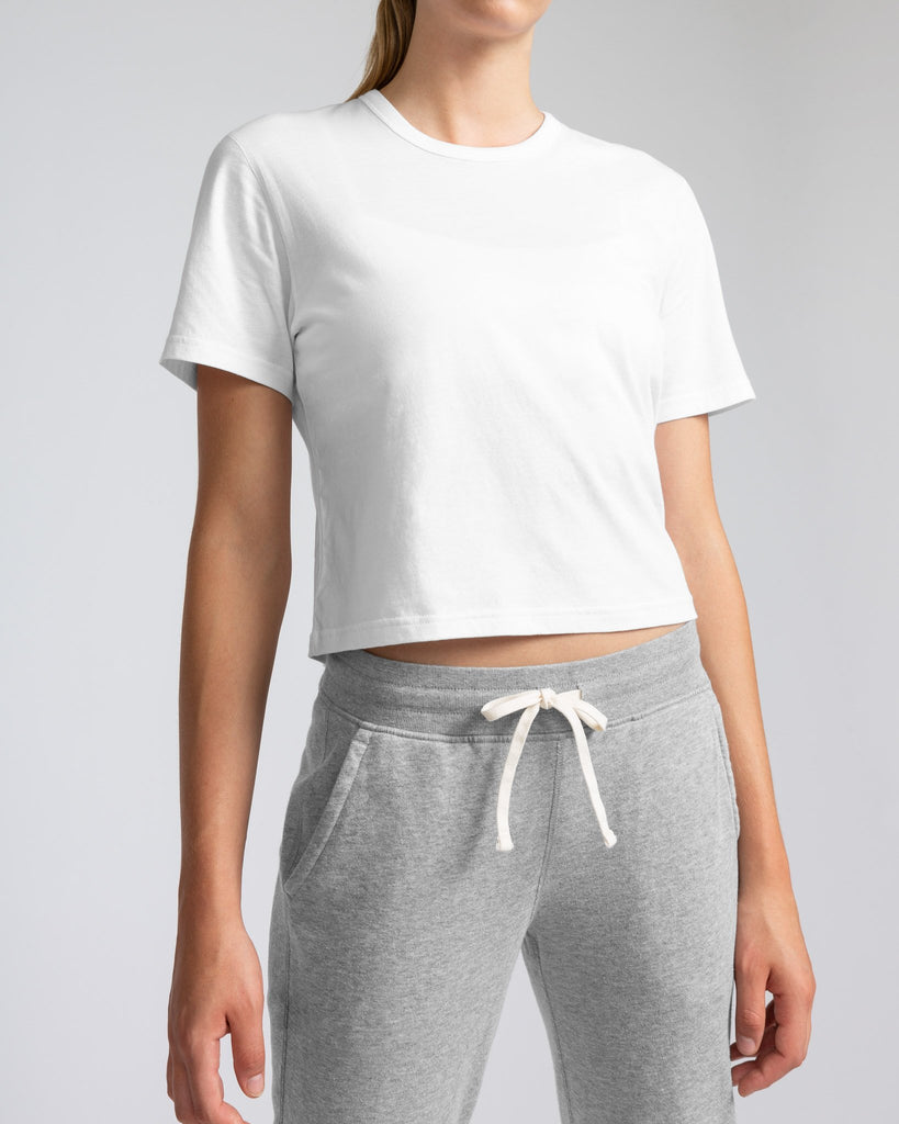 Reigning Champ Women's Box Fit T-Shirt, White 3