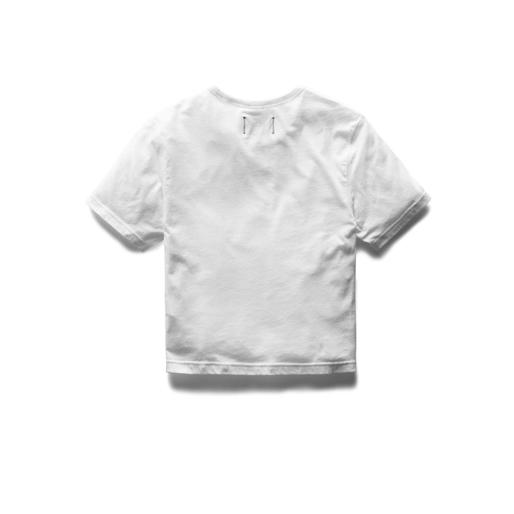 Reigning Champ Women's Box Fit T-Shirt, White