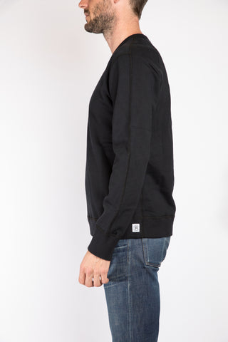 Reigning Champ Crewneck Sweatshirt, Black