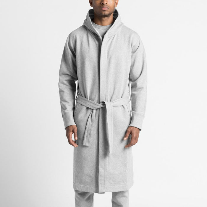 Reigning Champ Mid Weight Cotton Robe navy