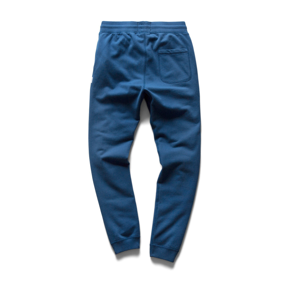 Reigning Champ Mid Weight Cotton Slim Sweatpant - court blue - portland dry goods
