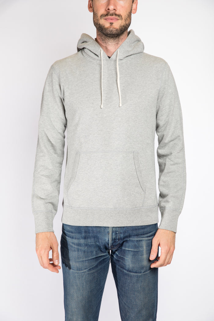 Reigning Champ Pullover Hoodie, Heather Grey | Portland Dry Goods | Front