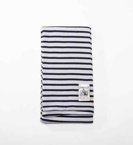 S.N.S. Herning Dual Scarf, Nueron Grey/Blue Brain