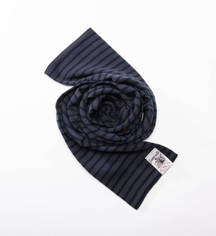 S.N.S. Herning Dual Scarf, Titan Grey/Blue Brain