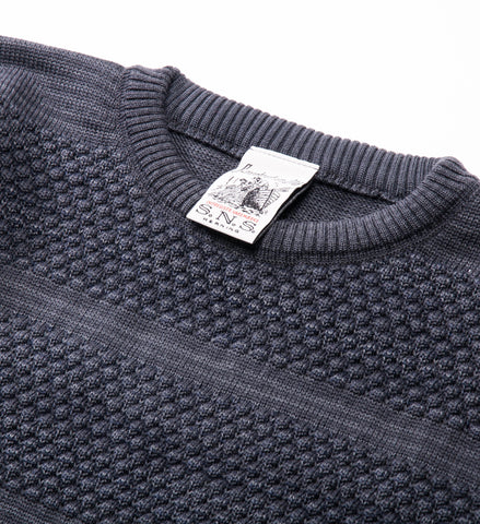 S.N.S. Herning Fisherman Crew Sweater, Titan Grey