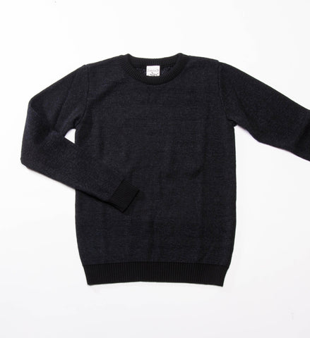 S.N.S. Herning Neuron Crew Sweater, Black Hole