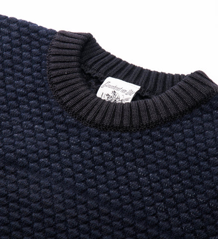 S.N.S. Herning Terminal Crew Sweater, Black Hole