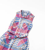 FWK by Engineered Garments Classic Shirt Dress, Red/Blue/Yellow Plaid