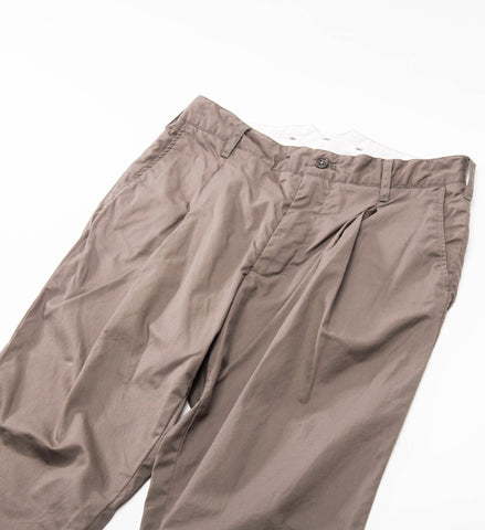 FWK Willy Post Pant, Olive High Count Twill