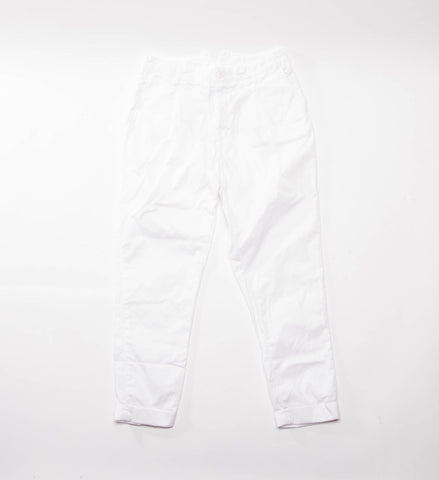 FWK Willy Post Pant, White High Count Twill