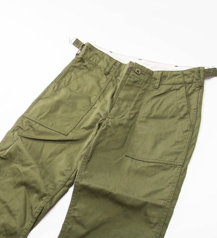 FWK Fatigue Pant, Olive 7oz Cotton Twill