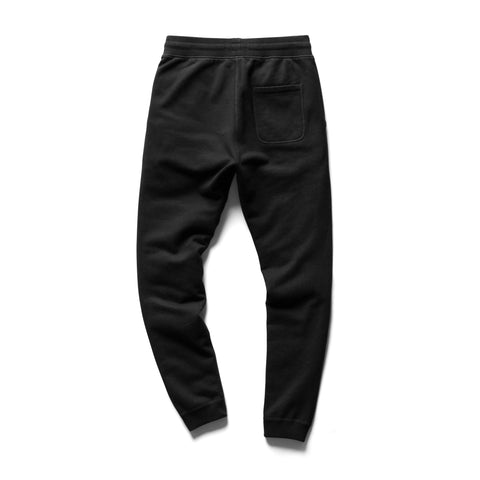 Reigning Champ Slim Sweatpant - Mid Weight Terry, Black