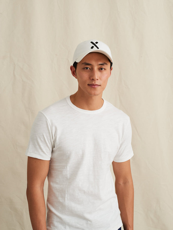 Standard T-Shirt in Slub Cotton, White