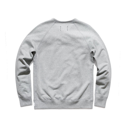 Reigning Champ Crewneck Sweatshirt Heather Grey