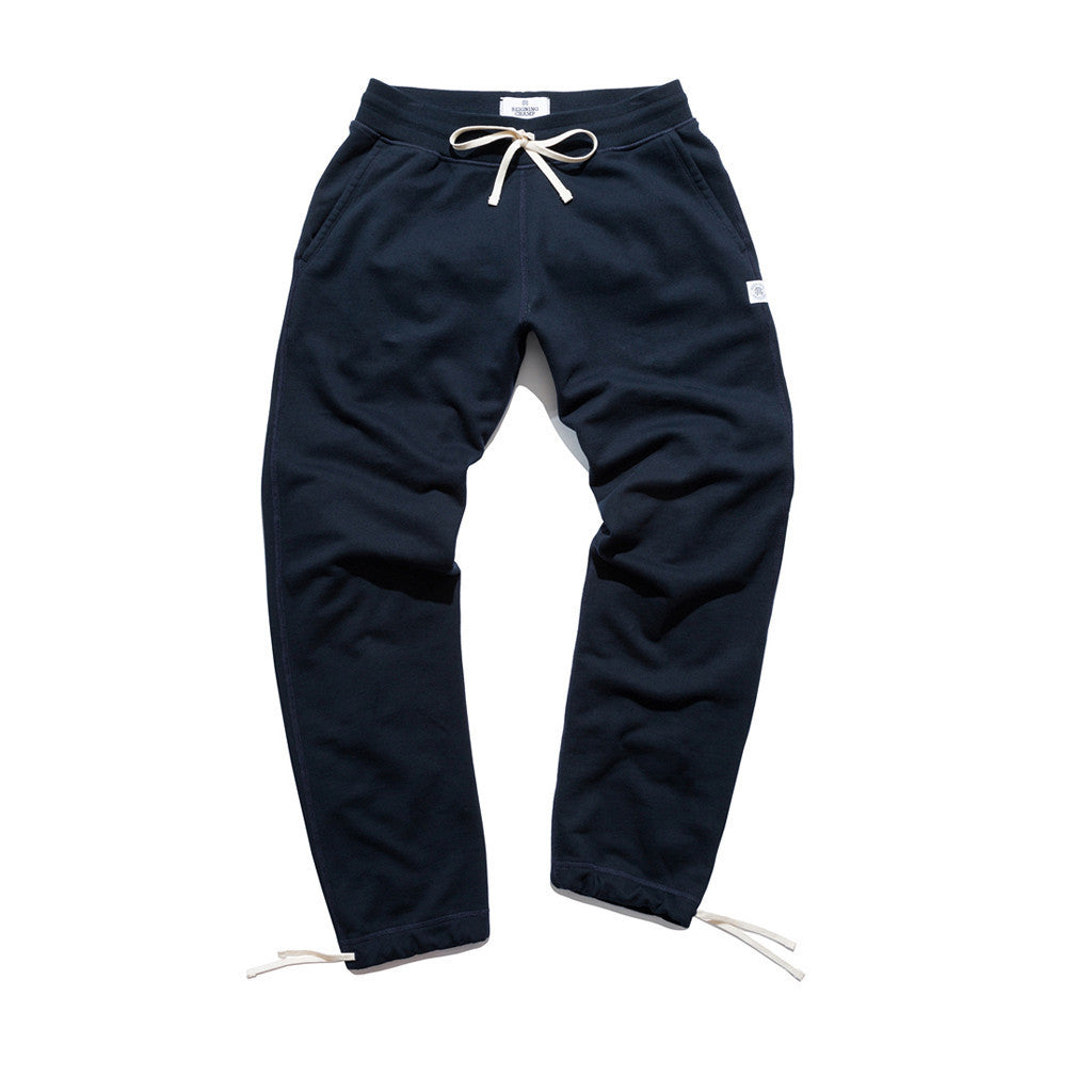 Reigning Champ Knit Terry Sweatpant Navy
