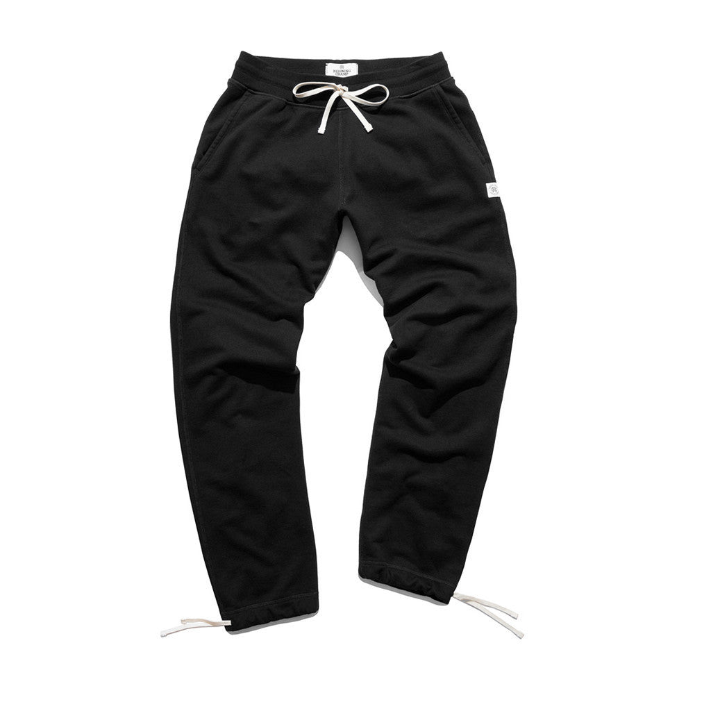 Reigning Champ Knit Terry Sweatpant Black