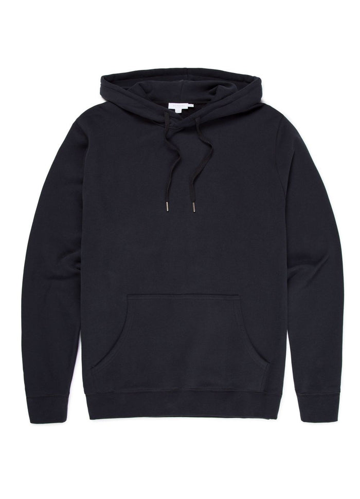 Sunspel Overhead Sweatshirt, Black