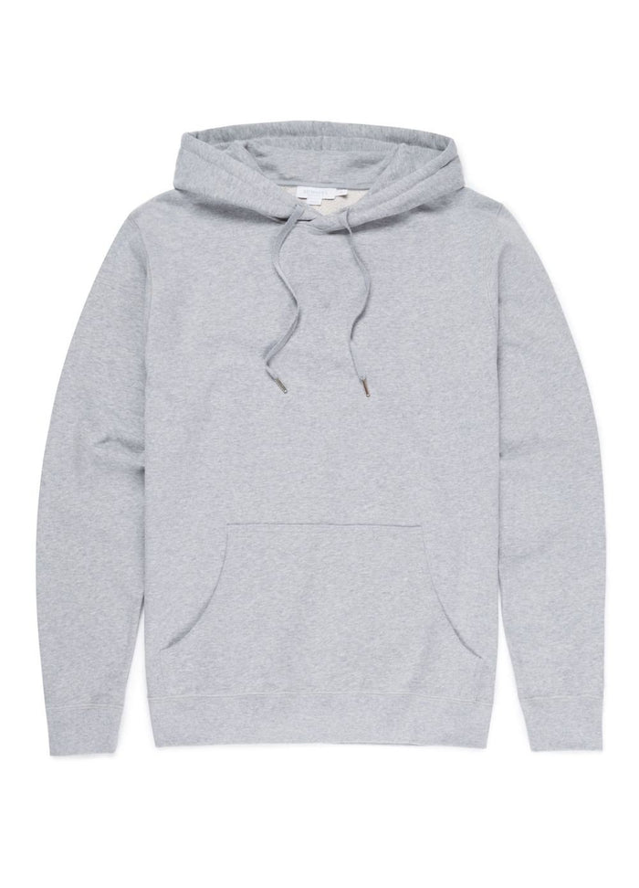 Sunspel Overhead Sweatshirt, Grey 2