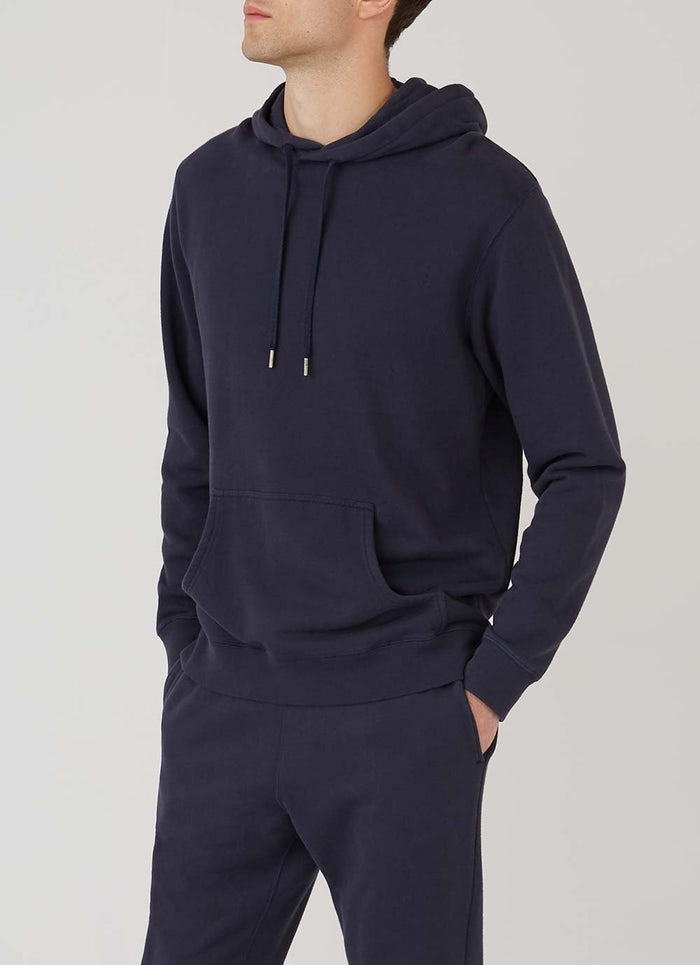 Sunspel Overhead Sweatshirt, Navy