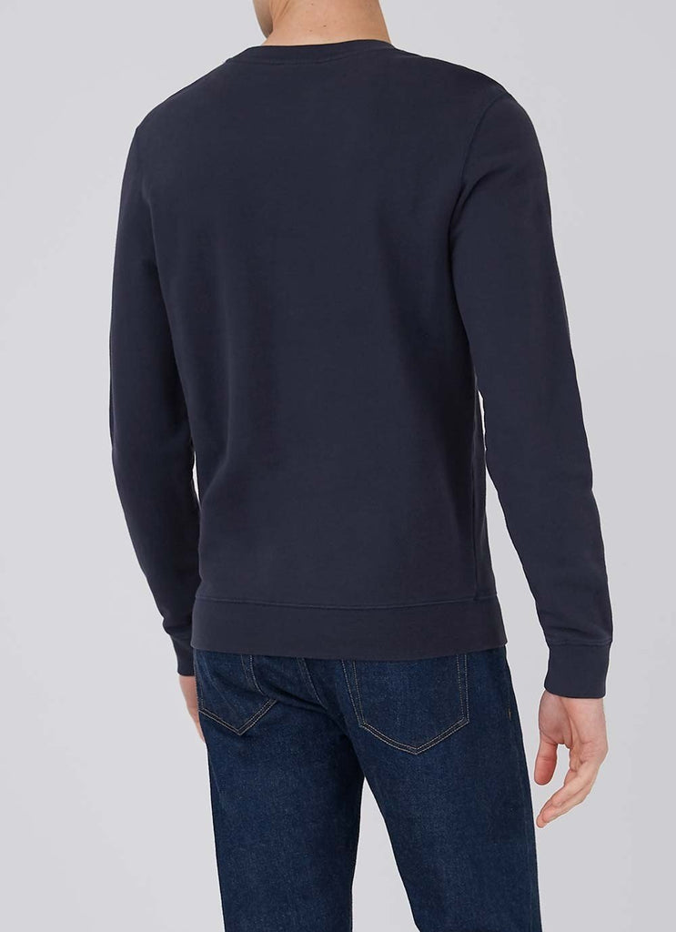Sunspel Sweatshirt, Navy