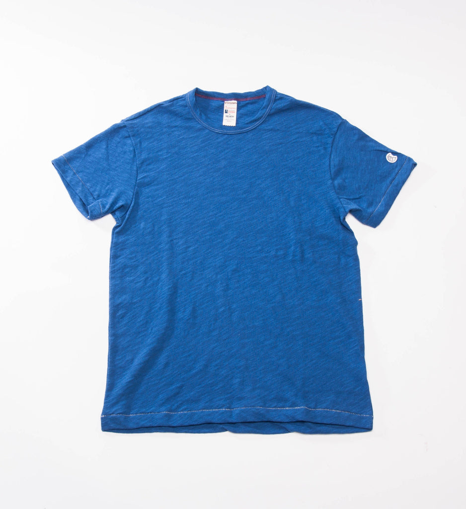Todd Snyder Champion Basic Tee, Brilliant Blue