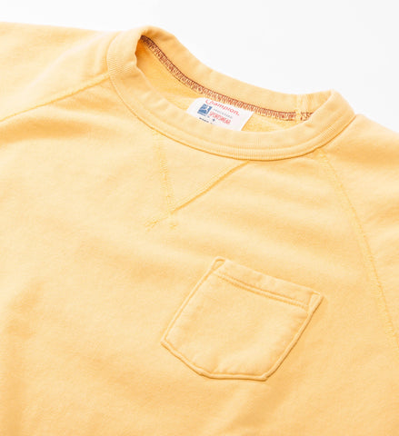 Todd Snyder Champion Pocket Sweatshirt, Golden Yellow
