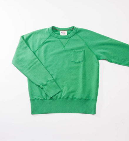 Todd Snyder Champion Pocket Sweatshirt, Kelly Green