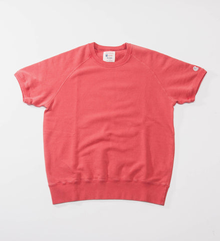 Todd Snyder Champion Short Sleeve Sweatshirt, Faded Red