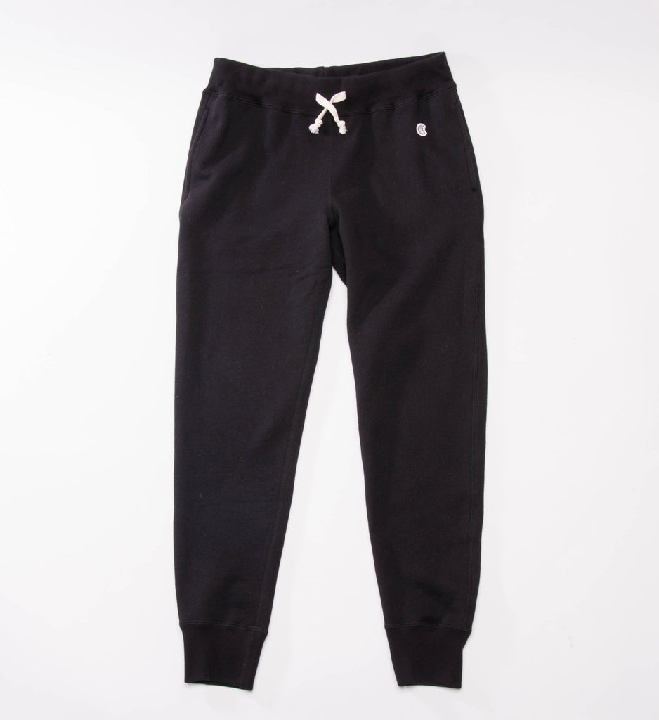 Todd Snyder Champion Slim Jogger Sweatpant, Black