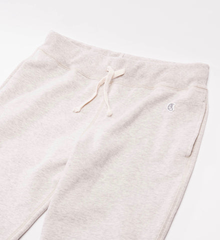 Todd Snyder Champion Slim Jogger Sweatpant, Eggshell Mix
