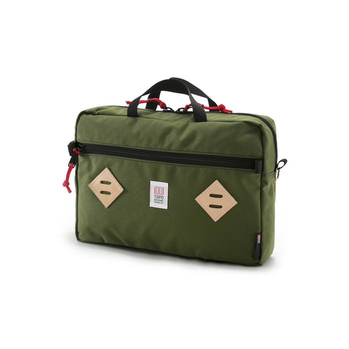 Topo Mountain Briefcase, Olive