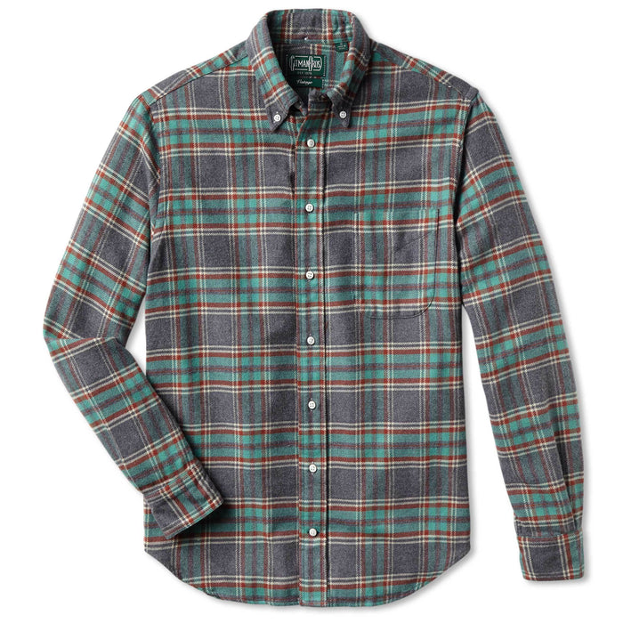 Gitman Viyella Shirt, Soft Green