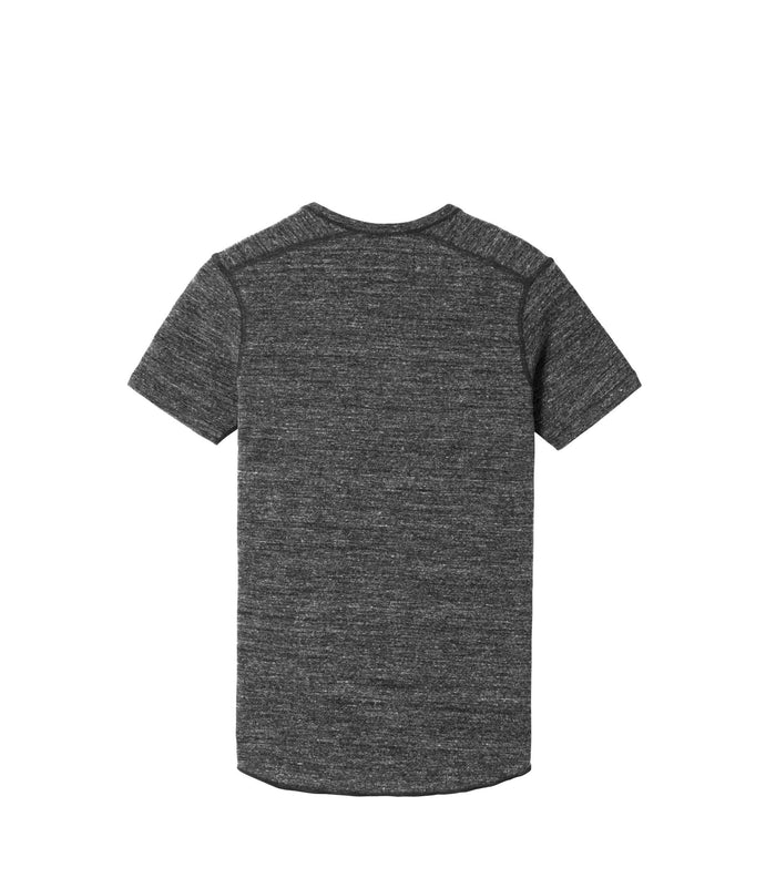 Wings + Horns Slub Short Sleeve , Marled Black