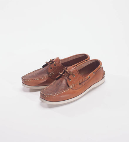 Waltzing Matilda Bjarga Boat Shoe, M31 Brown