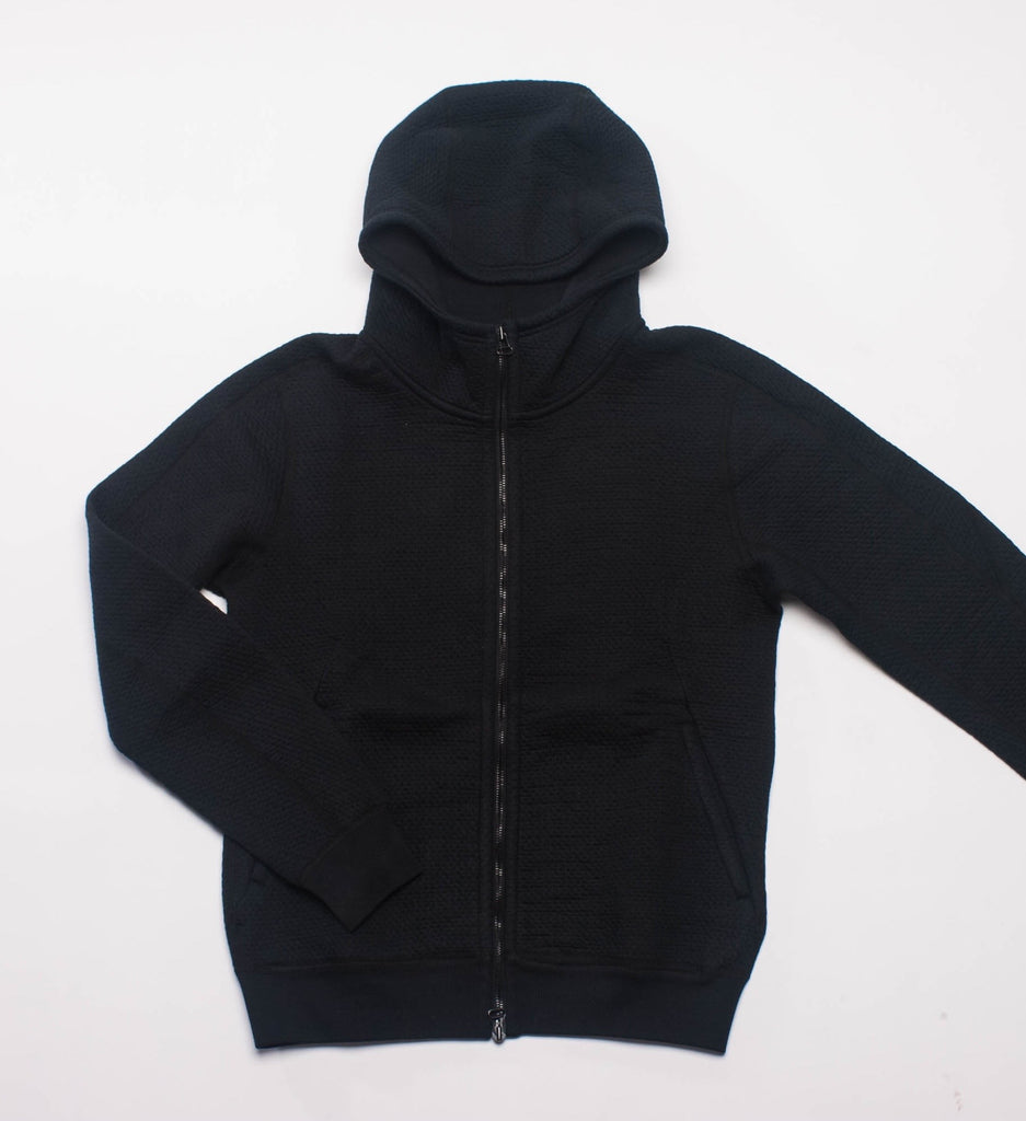 Wings + Horns Cabin Fleece Zip Hoodie, Black