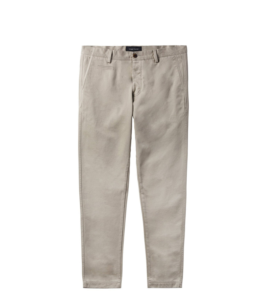 Wings + Horns Cotton Westpoint Chino | Portland Dry Goods | Khaki