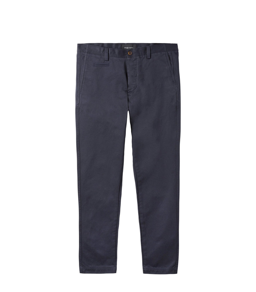 Wings + Horns Cotton Westpoint Chino | Portland Dry Goods | navy