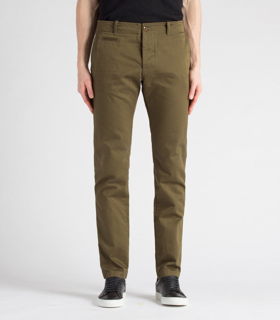 Wings + Horns Cotton Westpoint Chino | Portland Dry Goods | olive