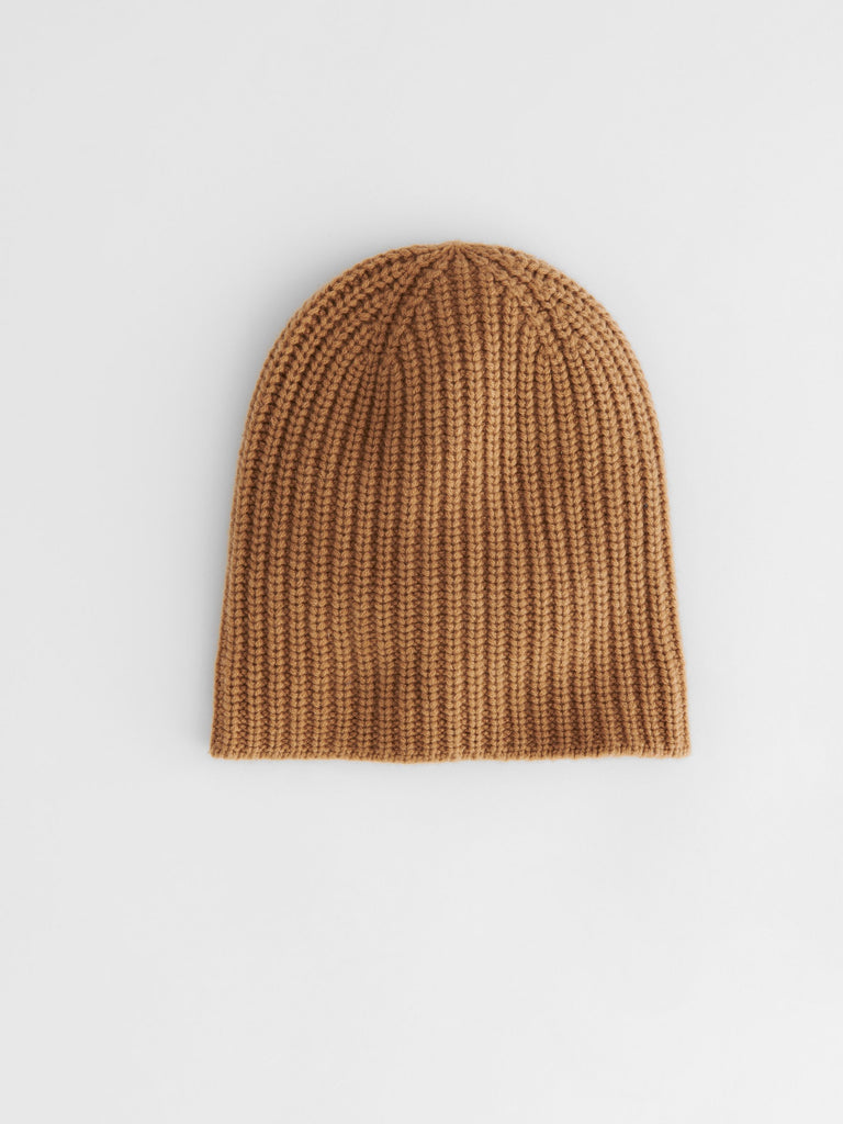 Alex Mill Cashmere Solid Beanie, Camel
