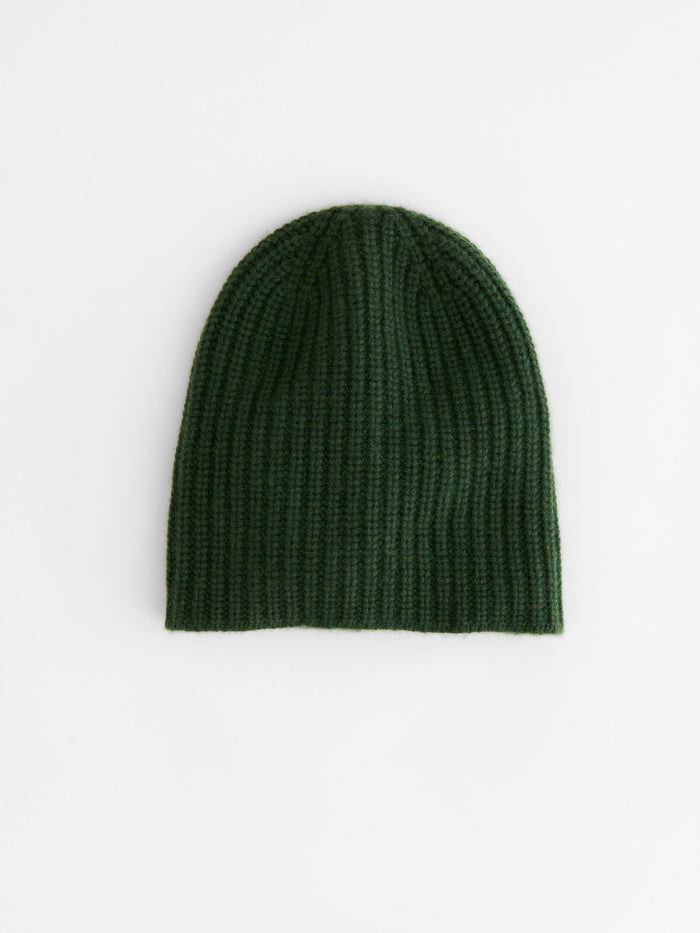 Alex Mill Cashmere Solid Beanie, Heather Green