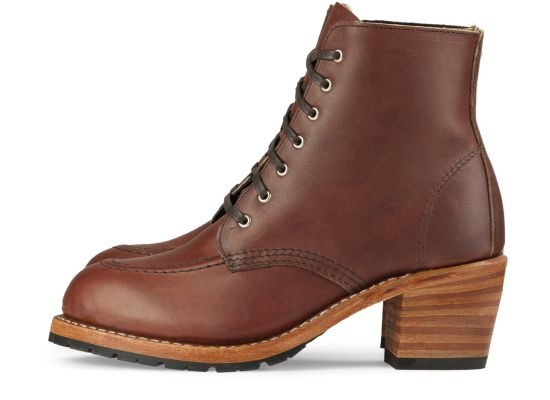 Red Wing Heritage Clara Boot, Amber Harness Leather