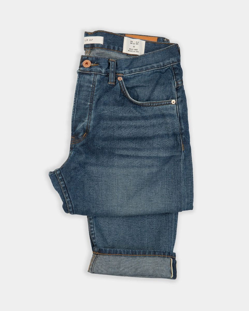 Billy Reid Slim Jean Stone Wash