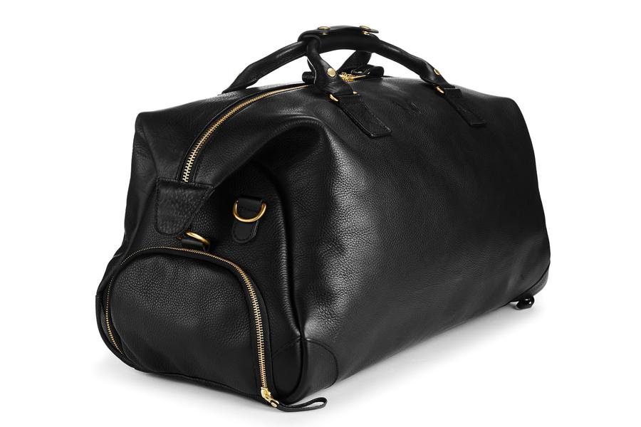 Bennett Winch Full Grain Leather Weekender, Black