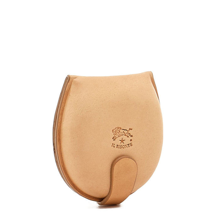Il Bisonte Coin Purse, Naturale